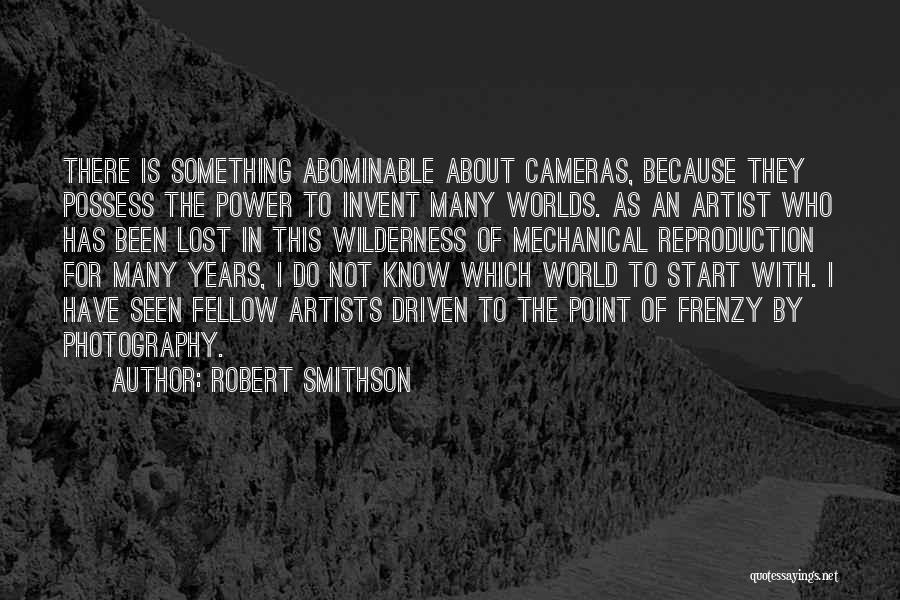 Robert Smithson Quotes 228118