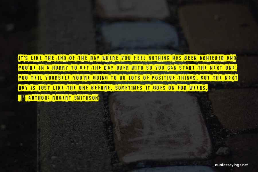 Robert Smithson Quotes 279221
