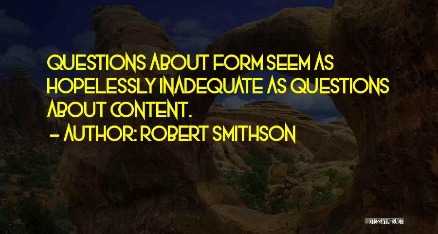 Robert Smithson Quotes 314919