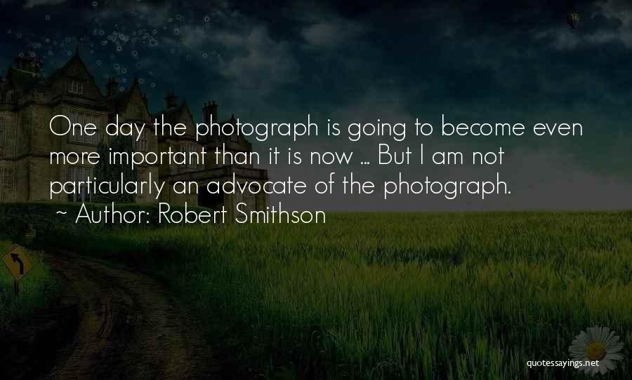 Robert Smithson Quotes 383870