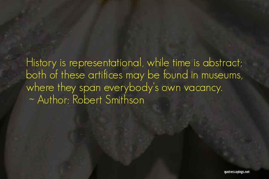 Robert Smithson Quotes 389213