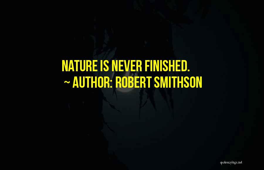Robert Smithson Quotes 418655