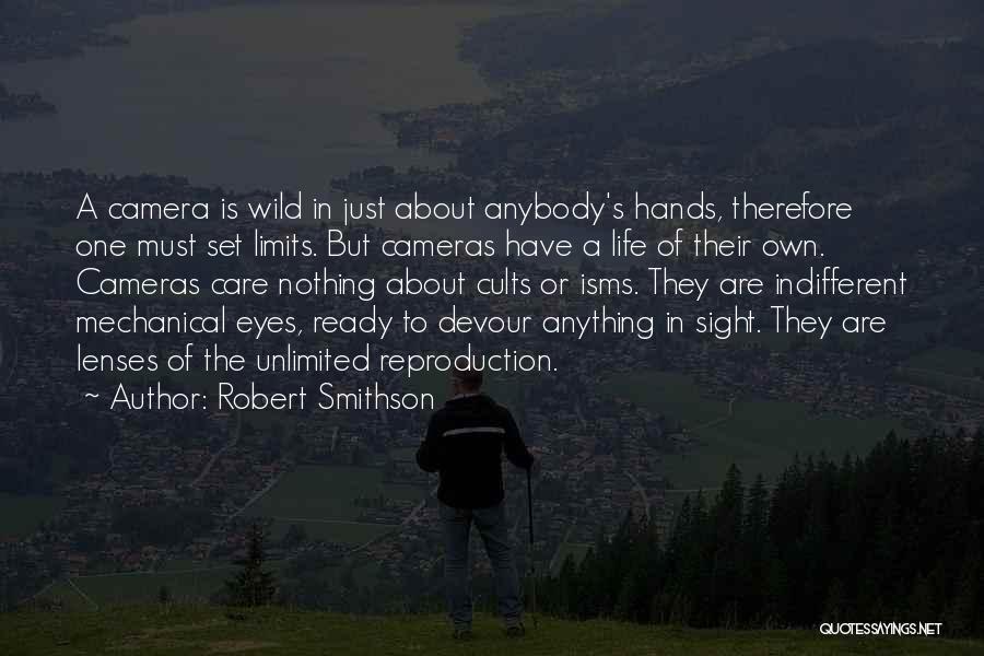 Robert Smithson Quotes 638196