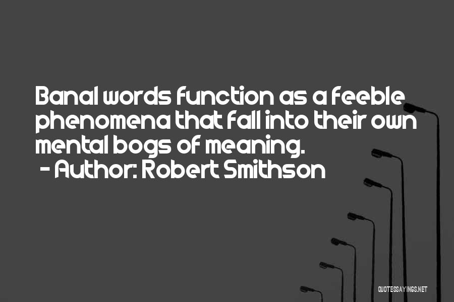 Robert Smithson Quotes 998764