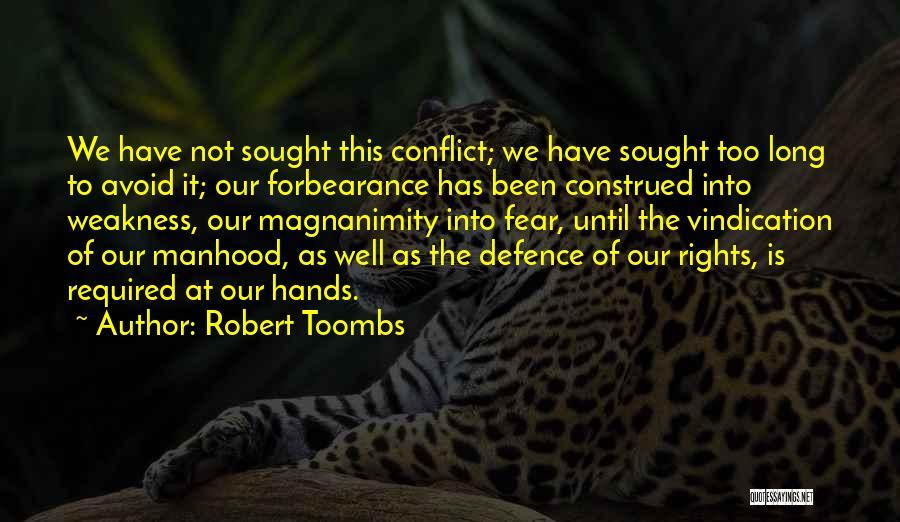 Robert Toombs Quotes 149219