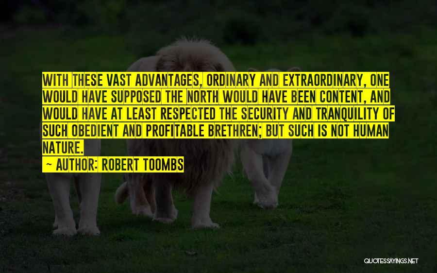Robert Toombs Quotes 193803