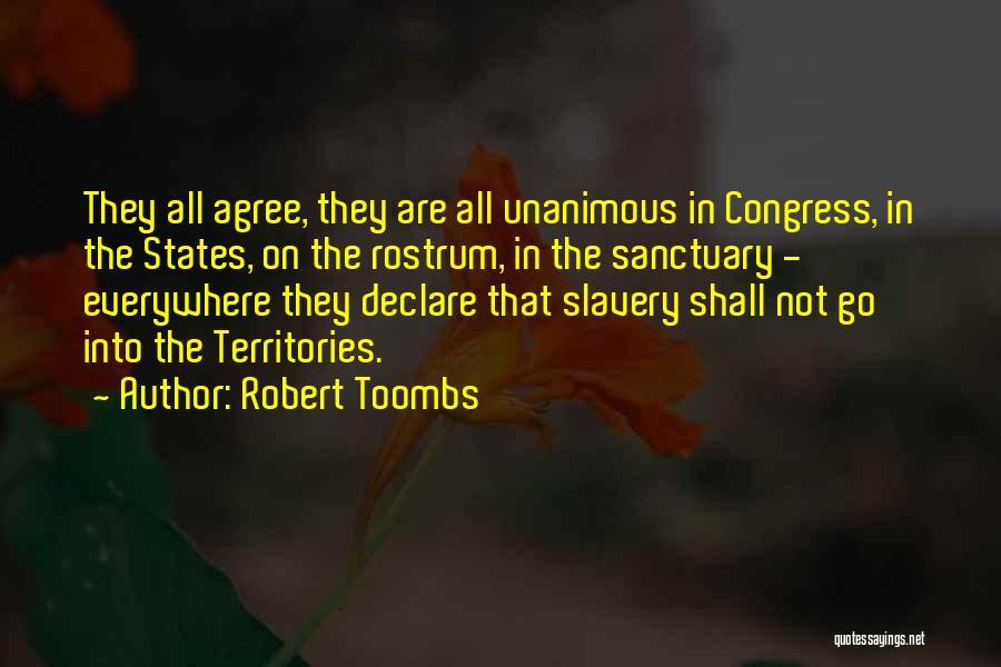 Robert Toombs Quotes 1980643
