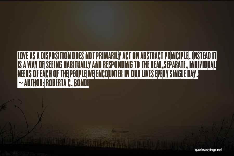 Roberta C. Bondi Quotes 1973647