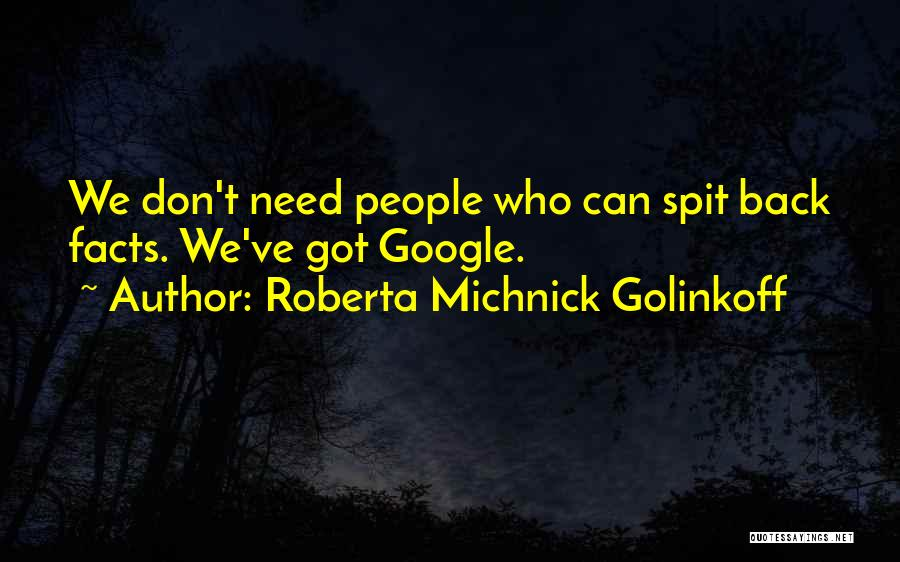 Roberta Michnick Golinkoff Quotes 1502159