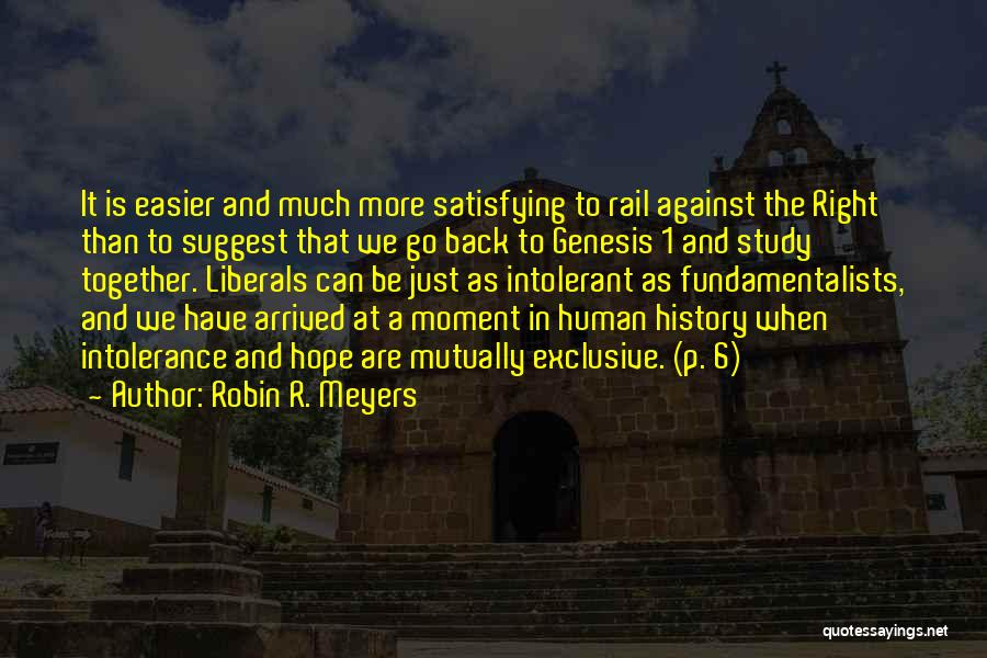 Robin R. Meyers Quotes 418502
