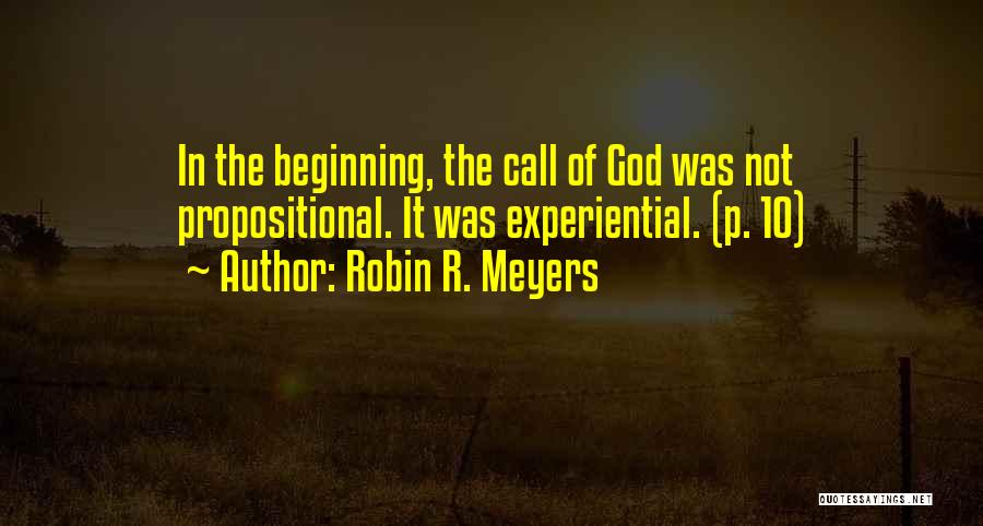 Robin R. Meyers Quotes 549858