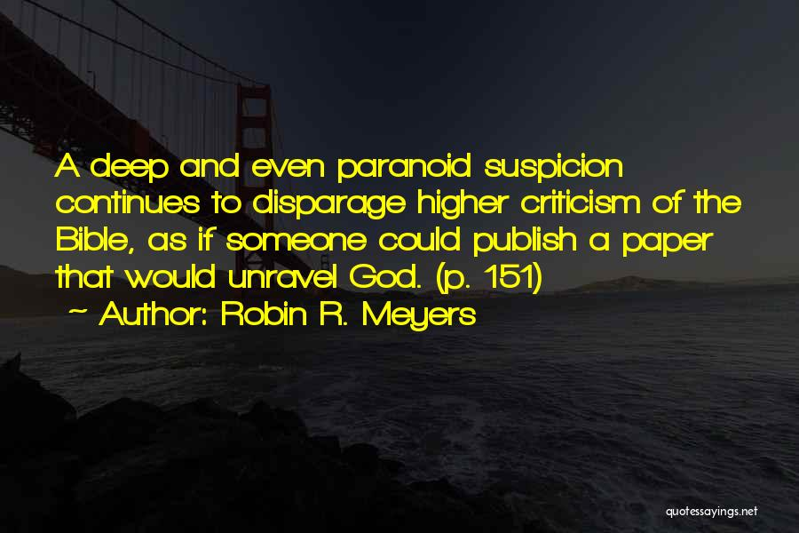 Robin R. Meyers Quotes 646740