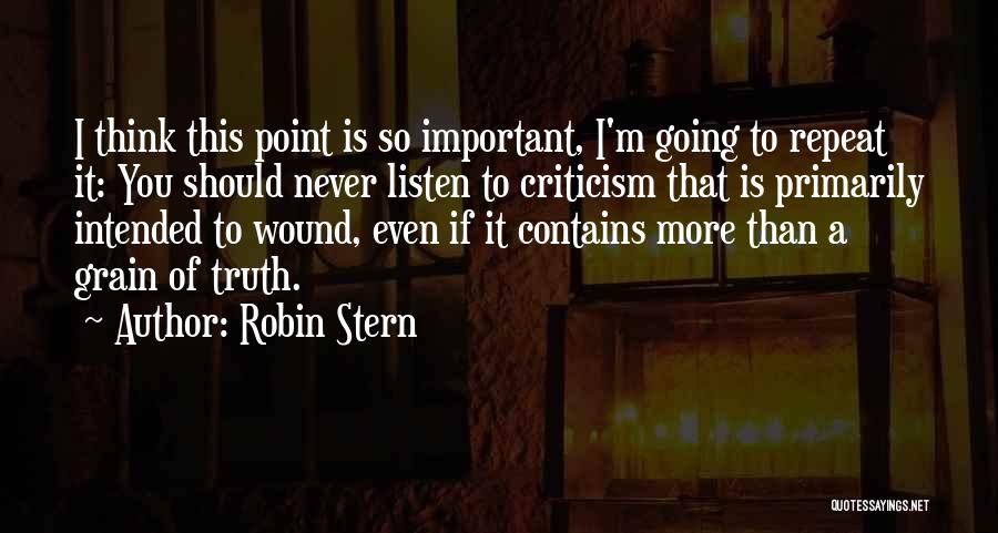 Robin Stern Quotes 338825