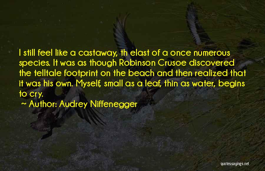 Robinson Crusoe Quotes By Audrey Niffenegger