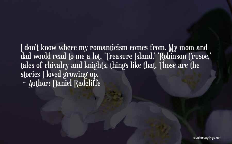 Robinson Crusoe Quotes By Daniel Radcliffe
