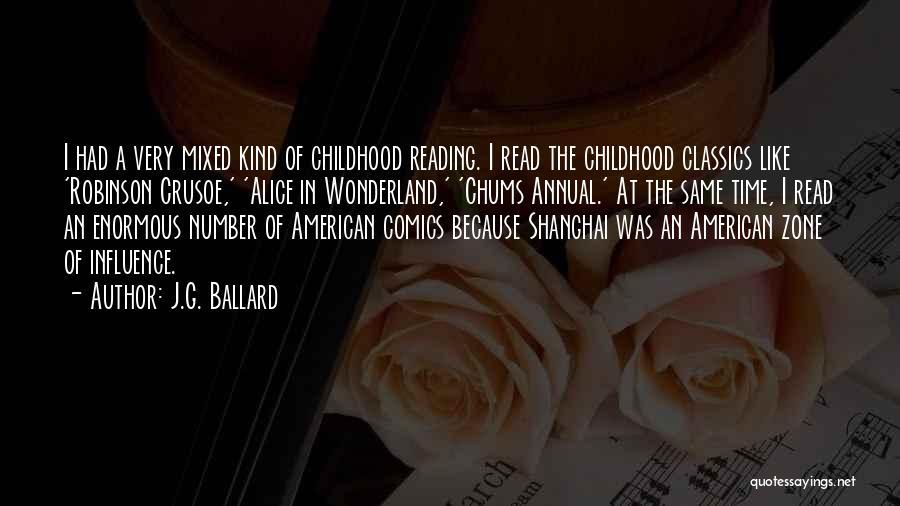 Robinson Crusoe Quotes By J.G. Ballard