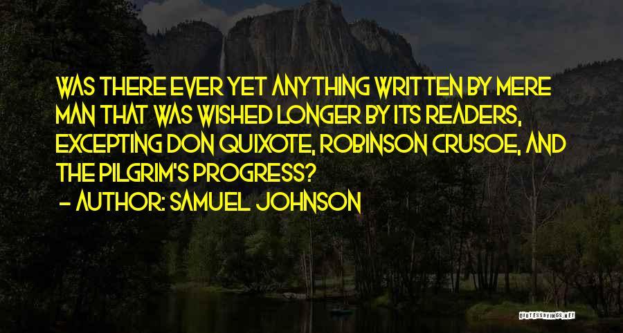 Robinson Crusoe Quotes By Samuel Johnson