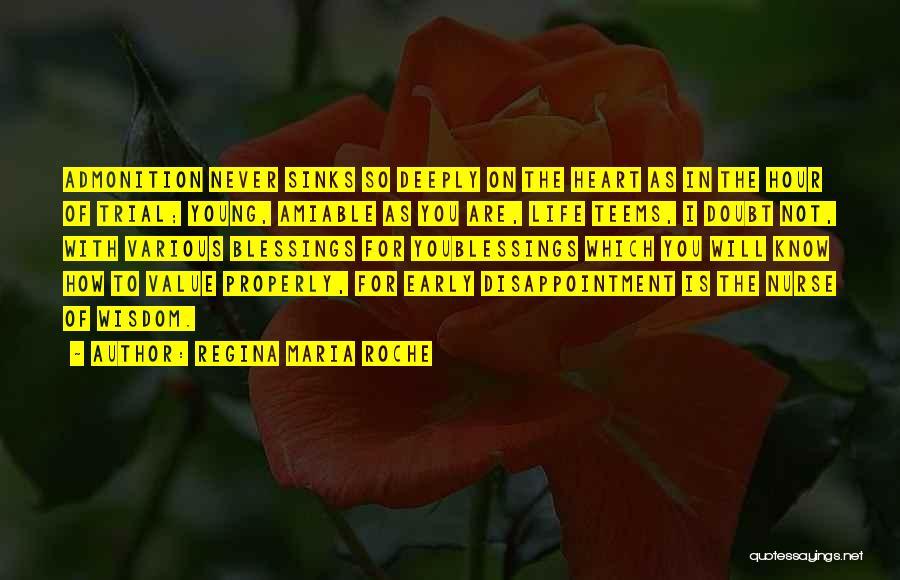 Roche Quotes By Regina Maria Roche