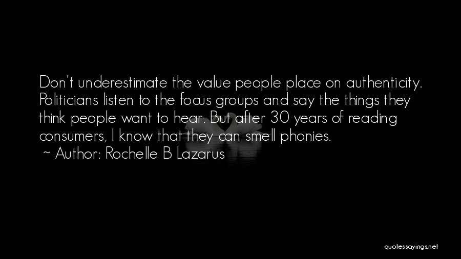 Rochelle B Lazarus Quotes 631421