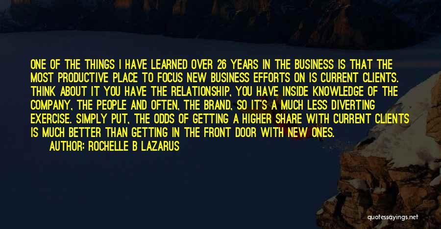 Rochelle B Lazarus Quotes 651888
