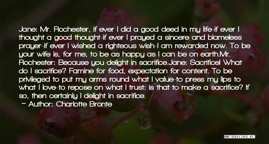 Rochester Love Jane Quotes By Charlotte Bronte