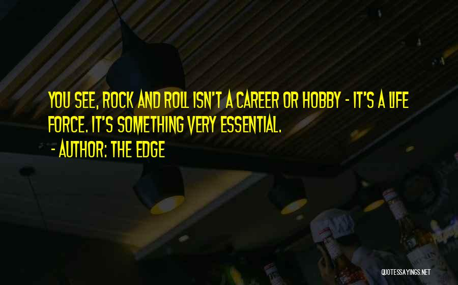 Rock And Roll And Life Quotes By The Edge