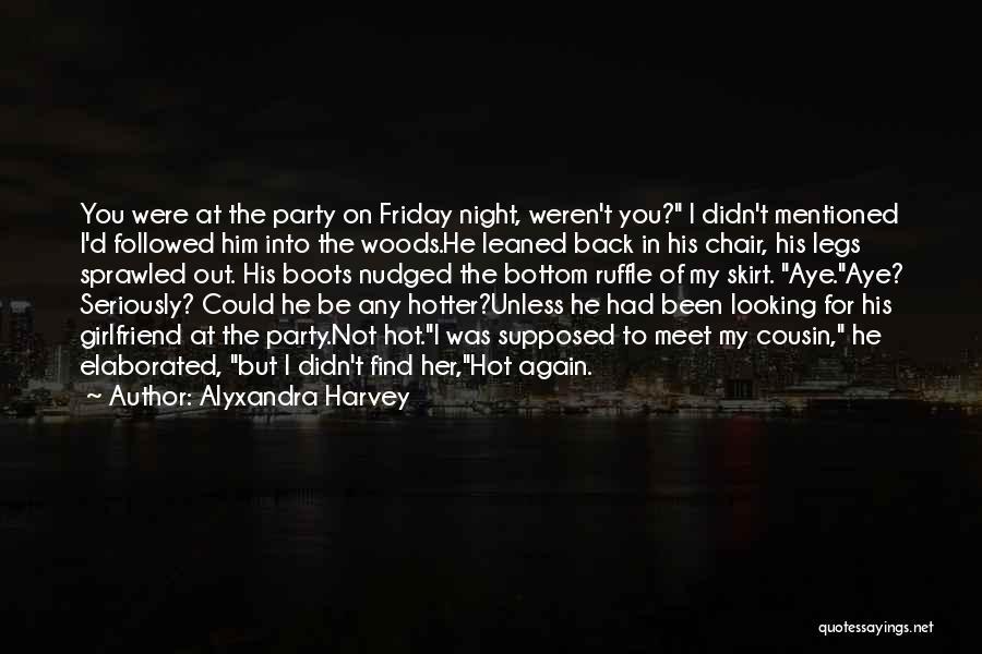Rock Bottom Quotes By Alyxandra Harvey