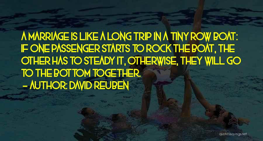 Rock Bottom Quotes By David Reuben