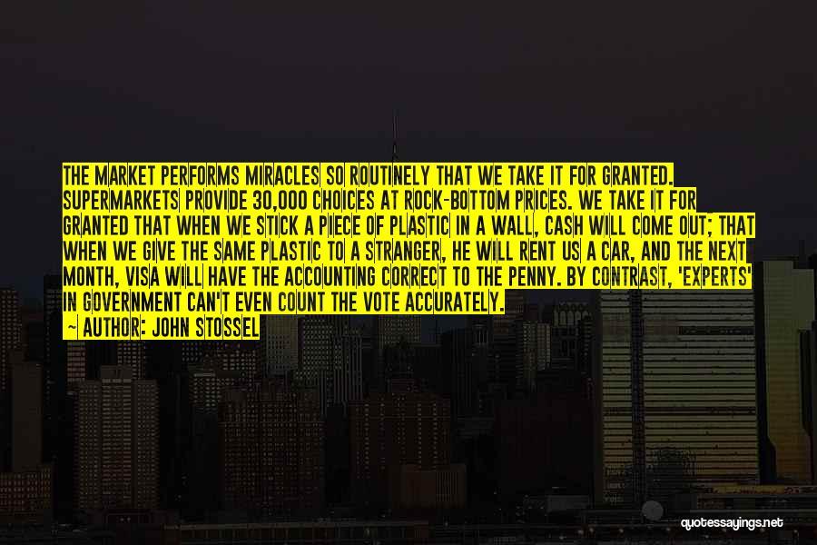 Rock Bottom Quotes By John Stossel