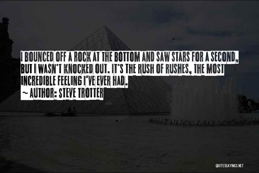 Rock Bottom Quotes By Steve Trotter