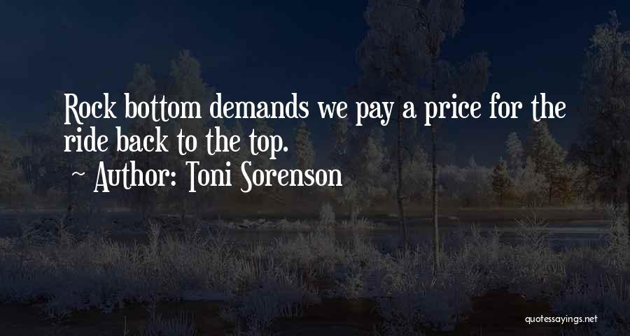 Rock Bottom Quotes By Toni Sorenson