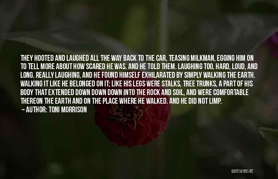 Rock Hard Place Quotes By Toni Morrison