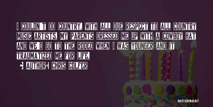 Rodeo Quotes By Chris Colfer