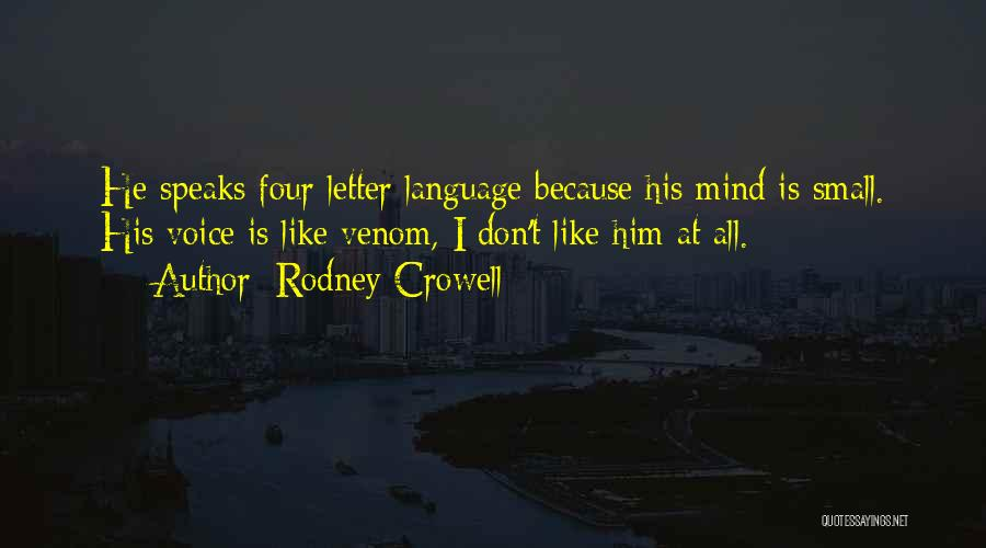 Rodney Crowell Quotes 86684