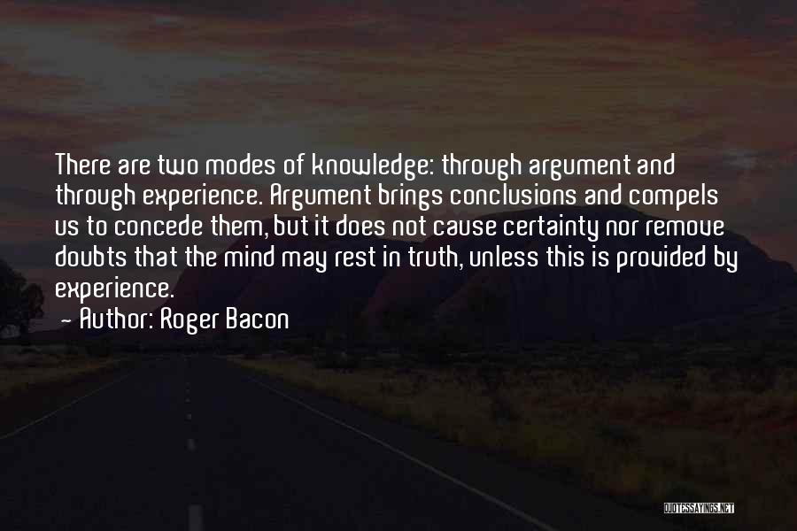 Roger Bacon Quotes 1412531