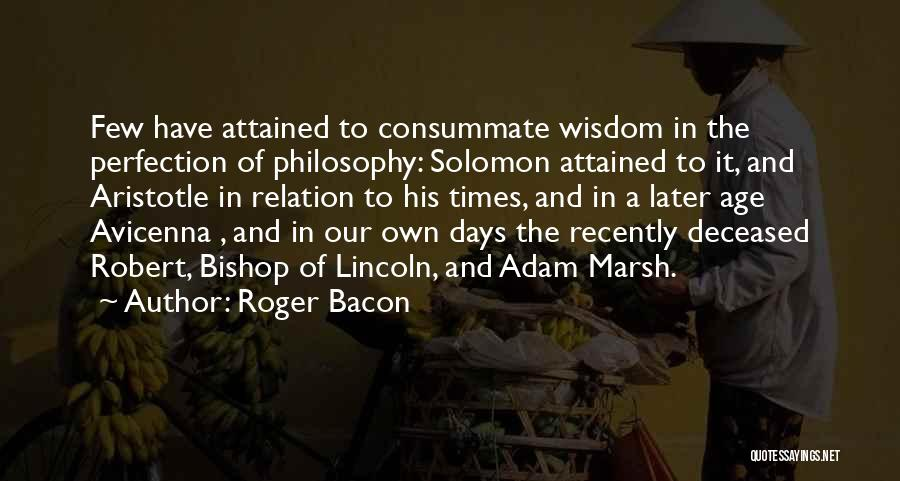 Roger Bacon Quotes 148697