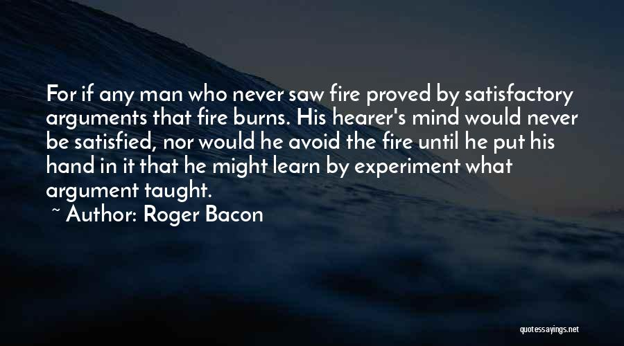 Roger Bacon Quotes 349073