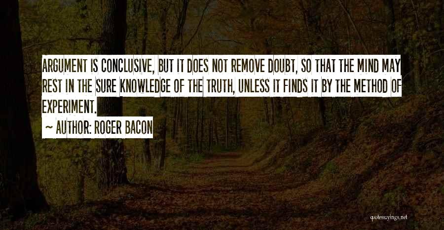 Roger Bacon Quotes 447199
