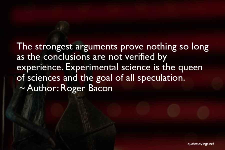 Roger Bacon Quotes 857417