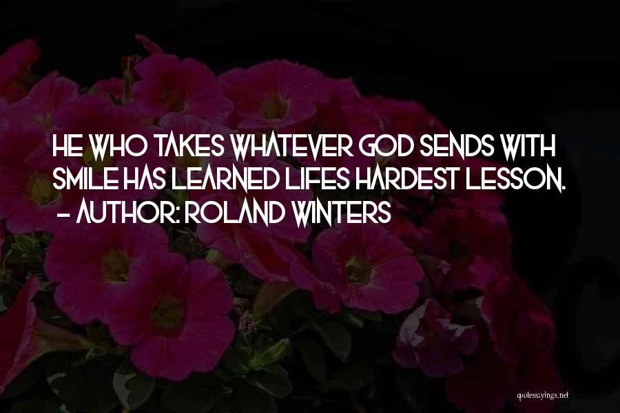 Roland Winters Quotes 956698