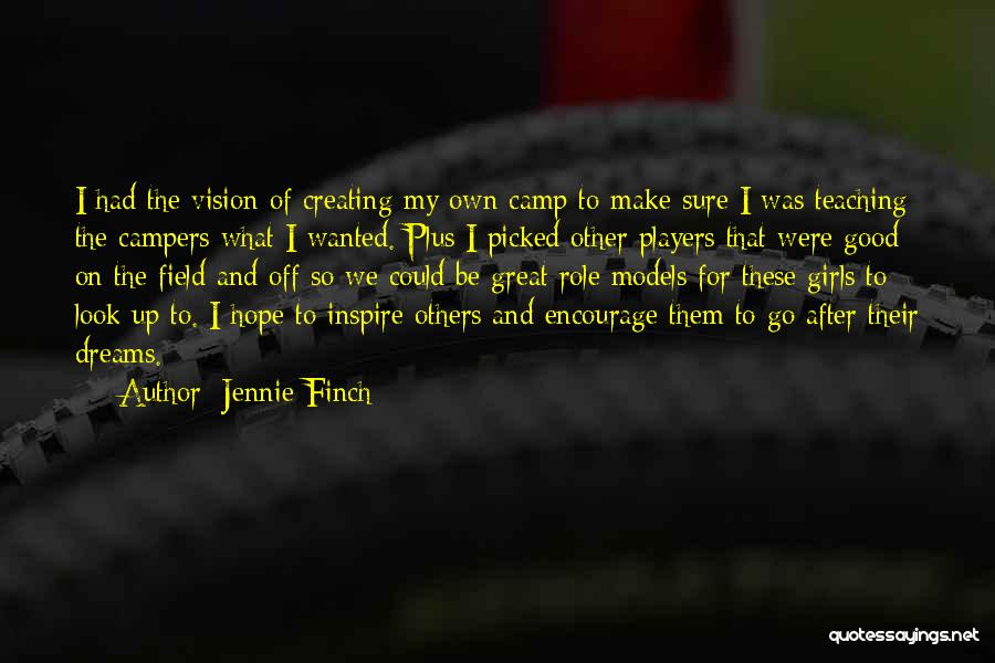 Role Players Quotes By Jennie Finch