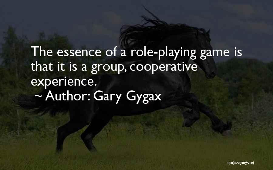 Role Playing Game Quotes By Gary Gygax
