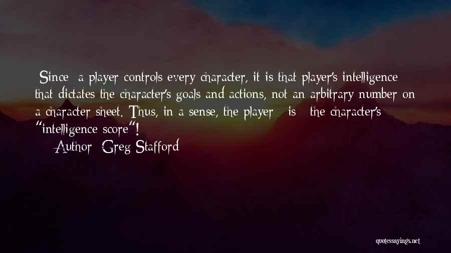 Role Playing Game Quotes By Greg Stafford