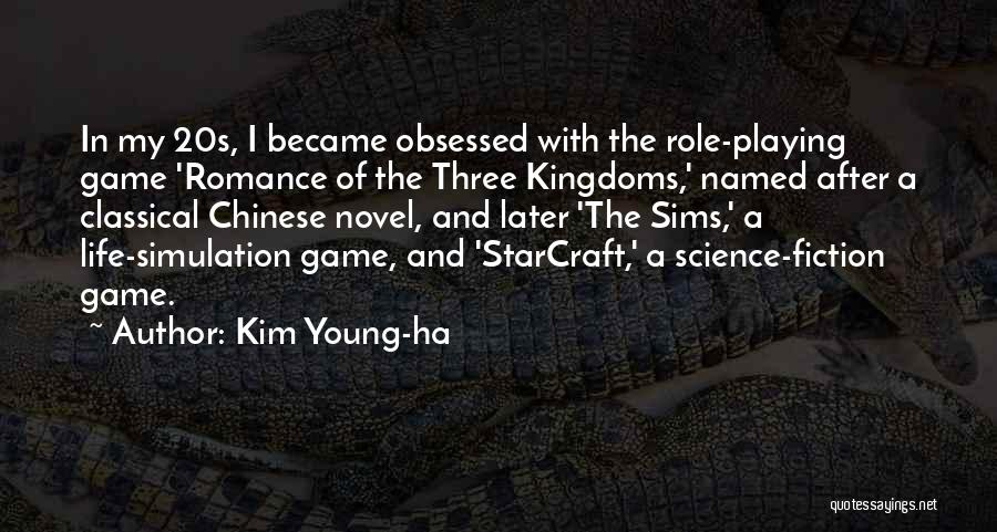 Role Playing Game Quotes By Kim Young-ha