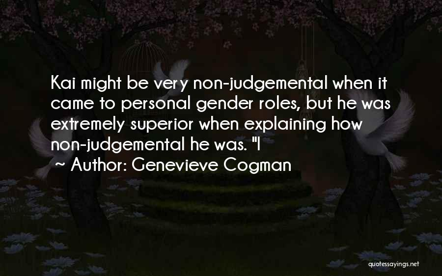 Roles Quotes By Genevieve Cogman