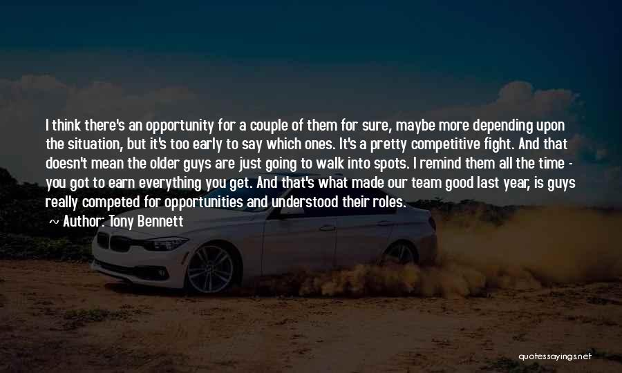 Roles Quotes By Tony Bennett