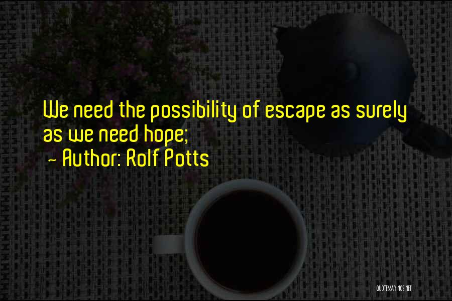 Rolf Potts Quotes 1155157