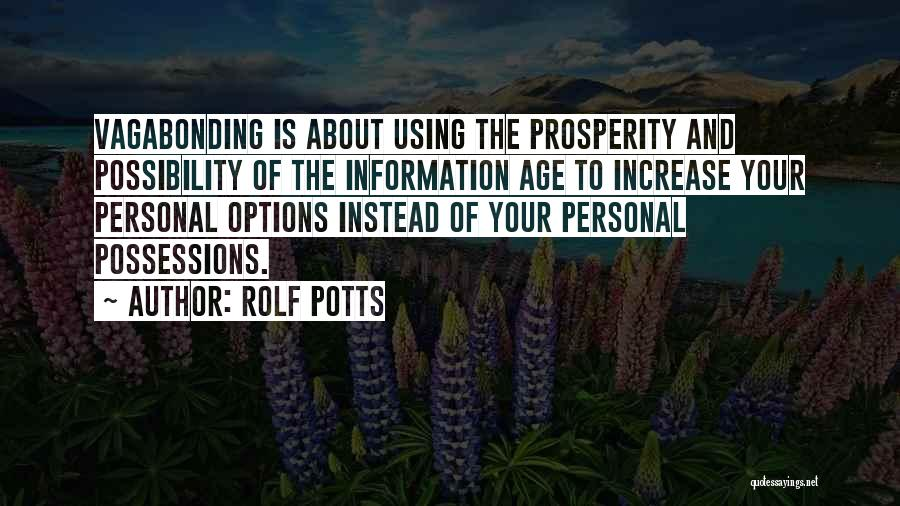 Rolf Potts Quotes 431674