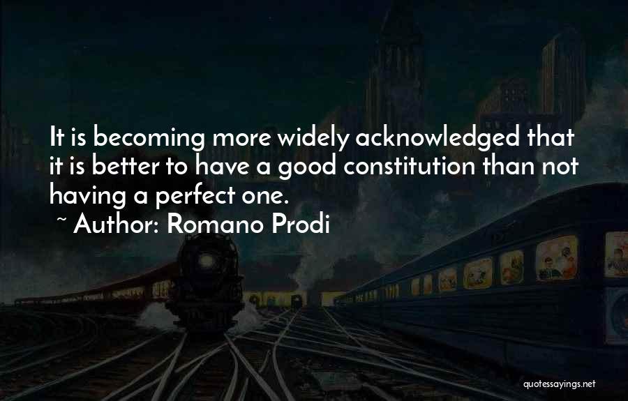 Romano Prodi Quotes 2229054