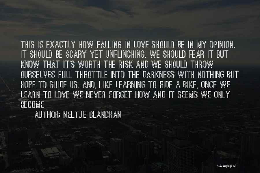 Romantic Bike Ride Quotes By Neltje Blanchan
